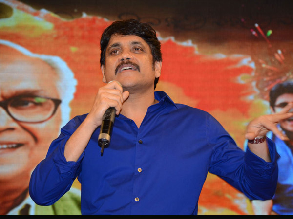 Nagarjuna Addresses Manam Success Meet