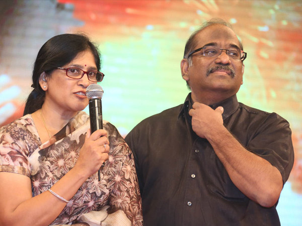Naga Susheela At Manam Success Meet