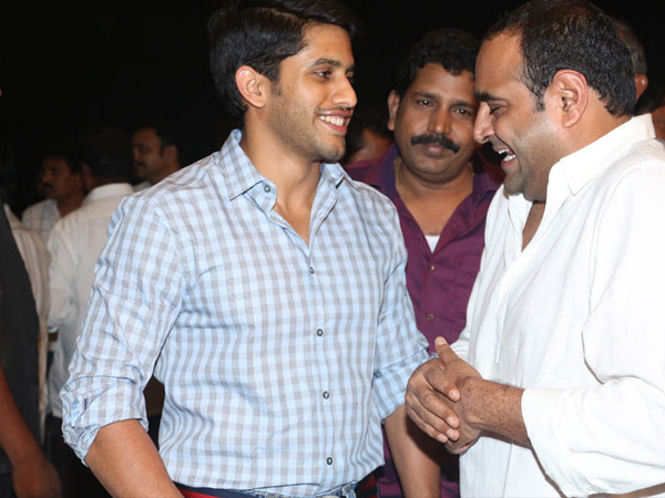 Naga Chaitanya's Bonding With Vikram Kumar