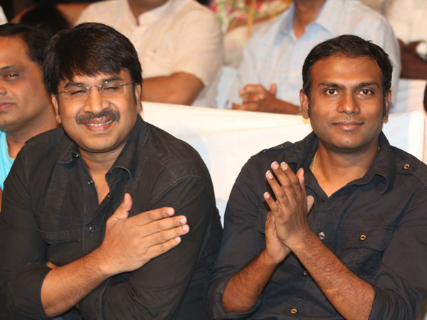 Srinivasa Reddy At Manam 50 Days Success Meet