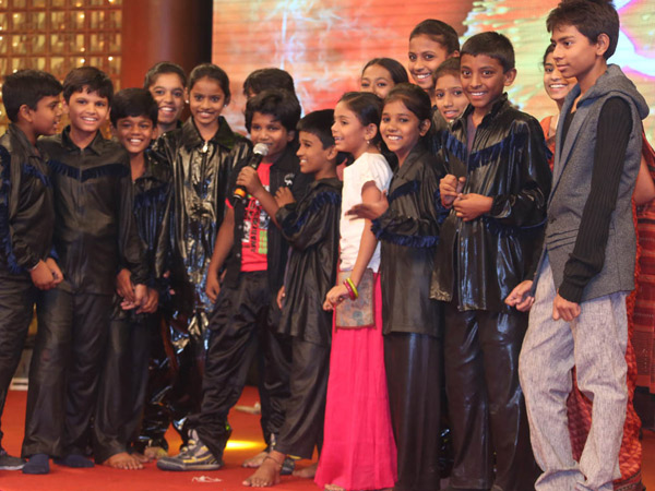 Kids Dance At Manam 50 Days Success Meet