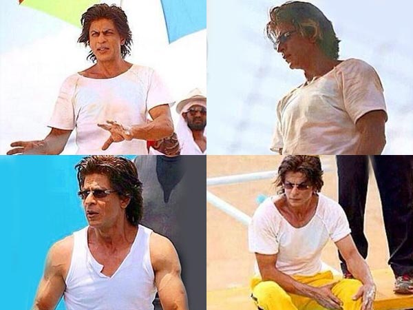 SRK While Shooting