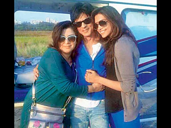 Farah, SRK and Deepika