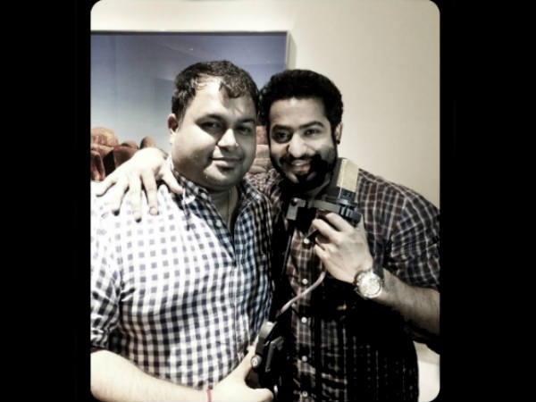 Jr NTR Sings Song 'Rakhasi Rakhasi' For Rabhasa