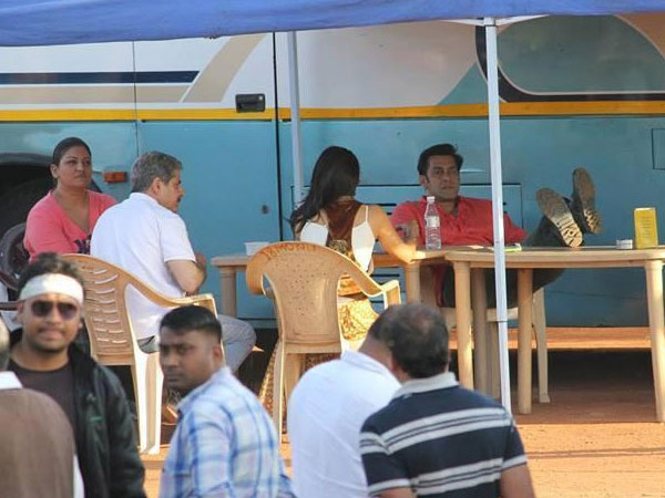 Salman And Jacqueline's Lunch