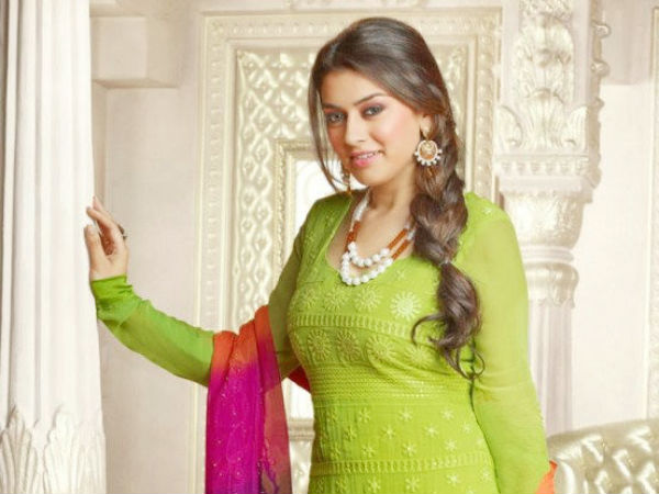 Hansika Motwani Not In Sudeep's Movie