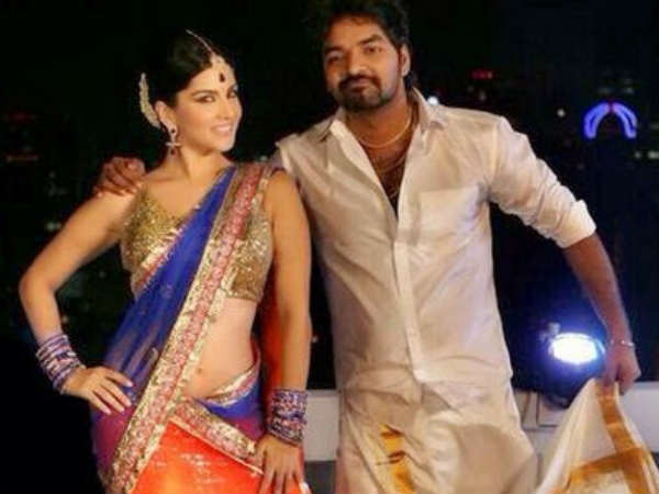 Sunny's Item Song In Vadacurry