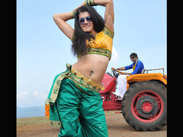 Taapsee In Green Saree