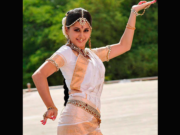 Taapsee In Traditional Getup