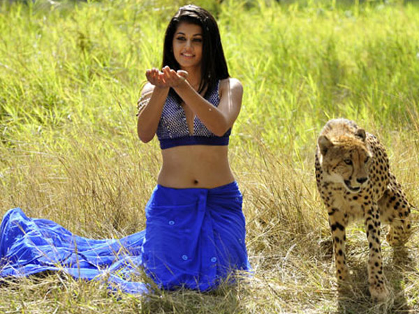Taapsee Pannu With A Cub