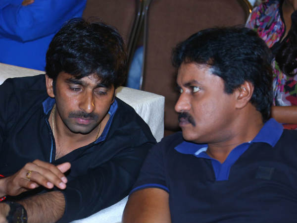 Sunil With Gopichand