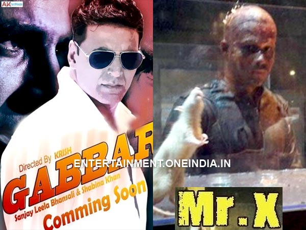 Gabbar Vs Baby Vs Mr X