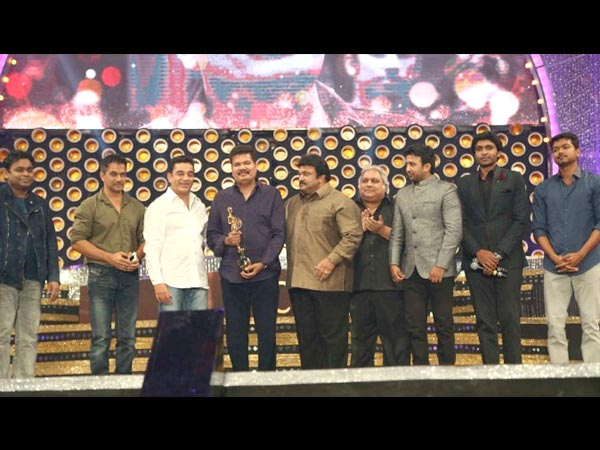 Shankar Presented Chevalier Sivaji Ganesan Award