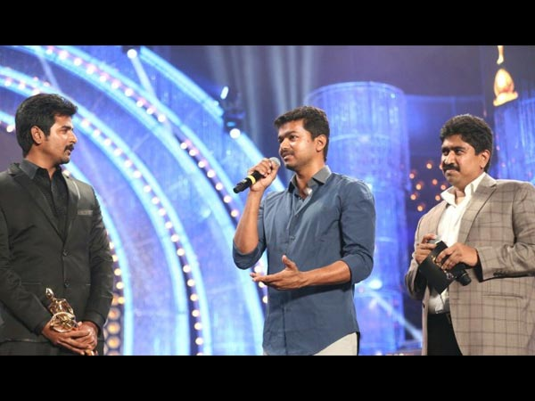 Sivakarthikeyan With Vijay