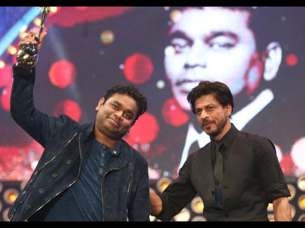 AR Rahman With Shahrukh Khan