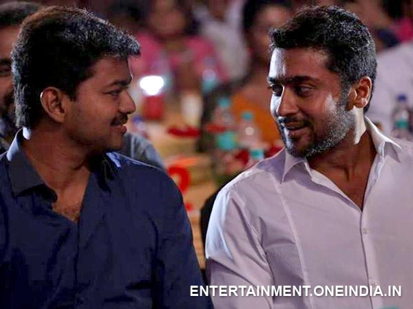 Vijay With Surya