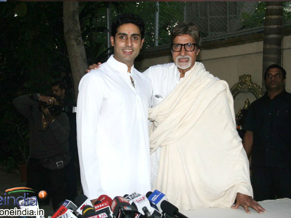 There Is No Competition With Dad: Abhishek Bachchan