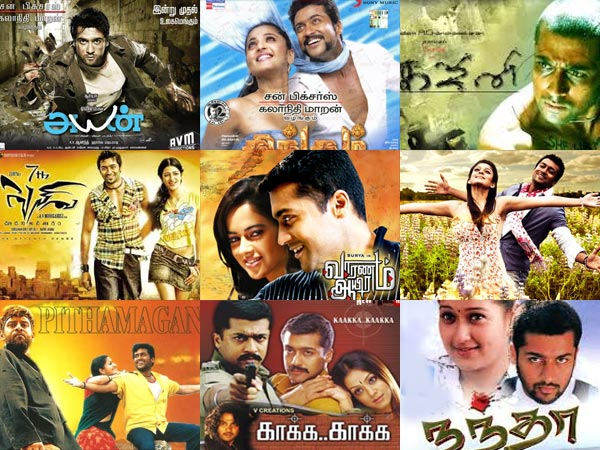 Suryas birthday special take a look at his top 10 movies filmibeat thecheapjerseys Image collections