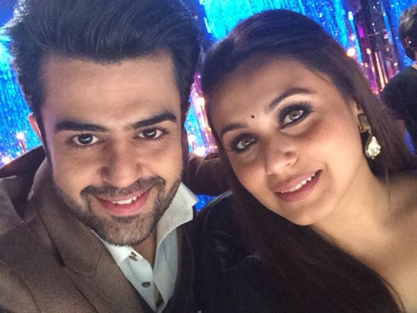 Rani With Manish Paul