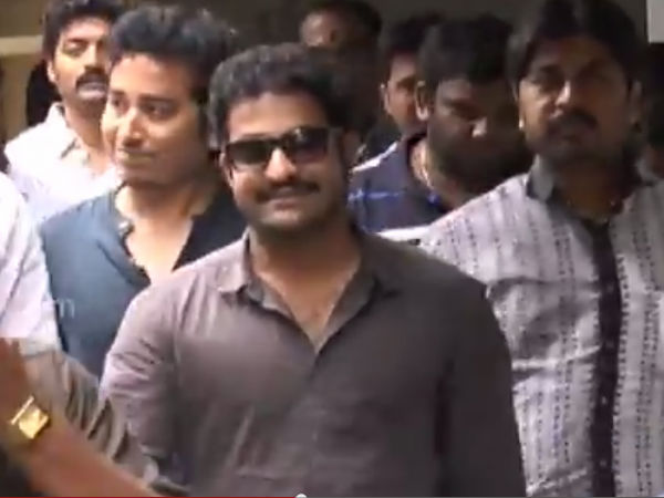 Junior NTR Beaming With Joy