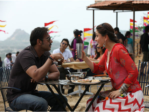 Ajay Devgn and Kareena Kapoor