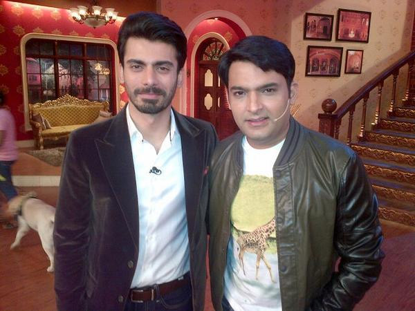 Kapil Sharma And Fawad Khan