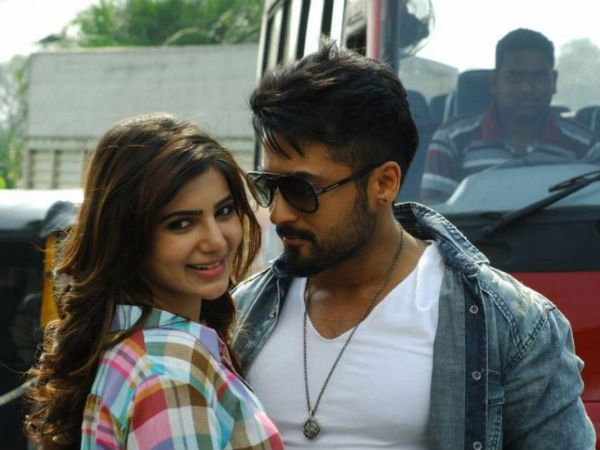 Samantha With Surya