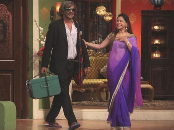 Photo: Sunil Grover's Look In Comeback Episode On Comedy Nights With Kapil