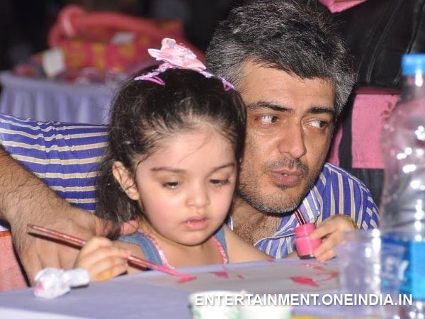Ajith With Anoushka