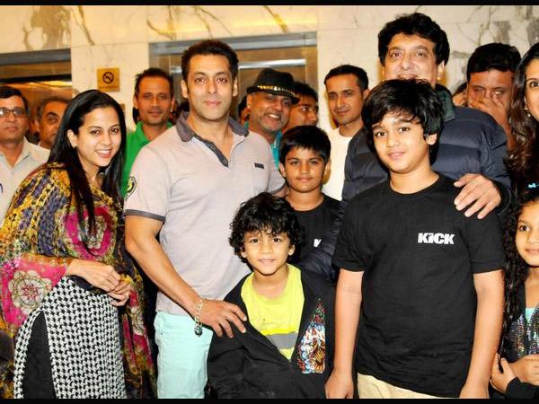 Salman Khan Eid Party Salman Khan Kick Success Party Salman Eid