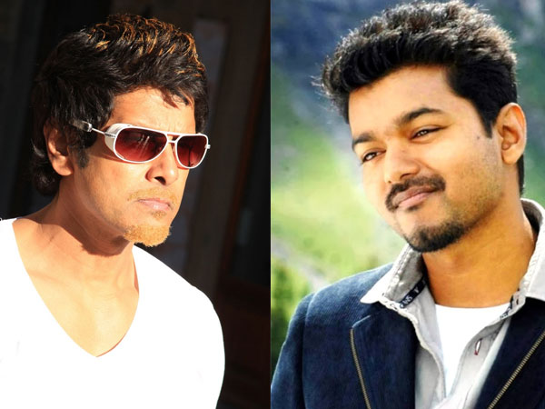 Vijay's Kaththi To Clash With Vikram's Ai
