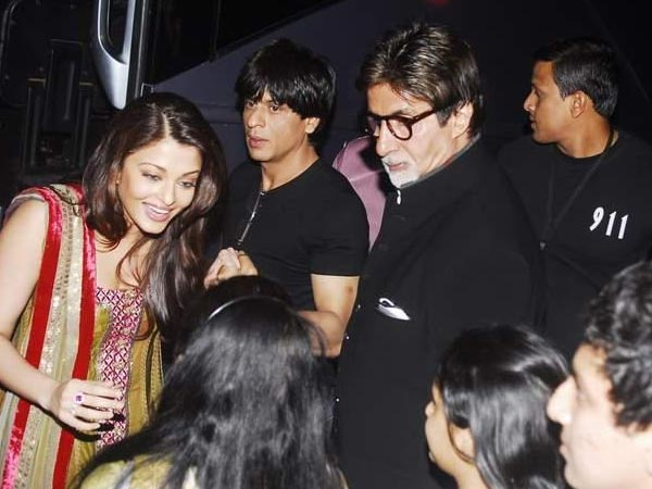 The Bachchans and Khan Bond