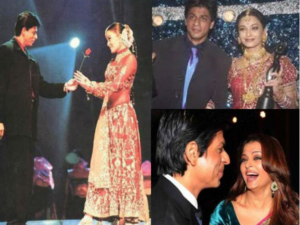 Unseen Pics Of Aishwarya Rai and Shahrukh Khan