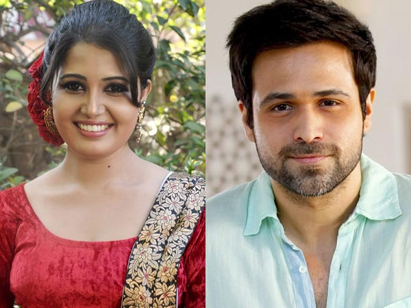 Is Sandra Amy Sharing A Kiss With Emraan Hashmi?