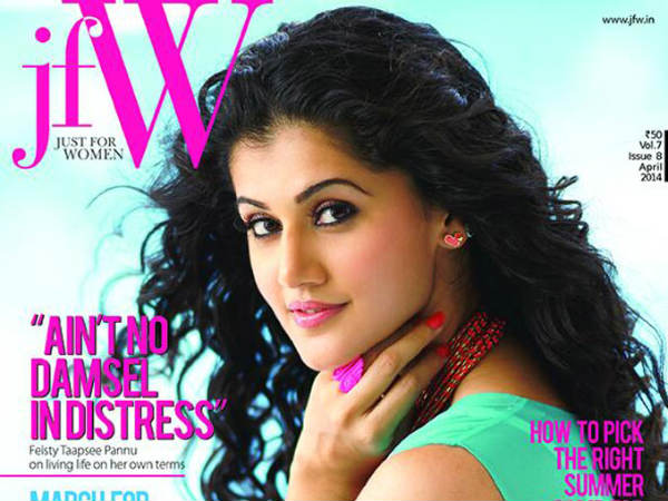 Taapsee Signs Her Third Hindi Movie