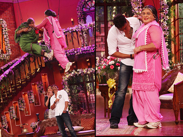Ajay Devgn And Kareena Kapoor On Comedy Nights With Kapil