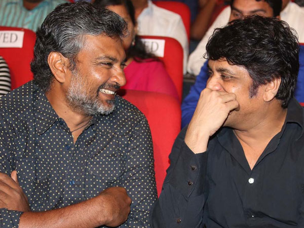 Nagarjuna-Rajamouli's Bonding At Sikander Music Launch