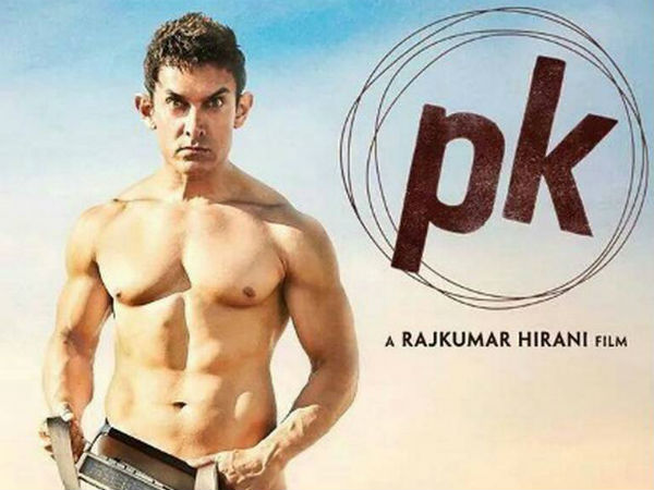 Aamir Khan in the film PK