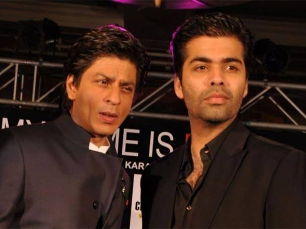Shahrukh Khan and Karan Johar