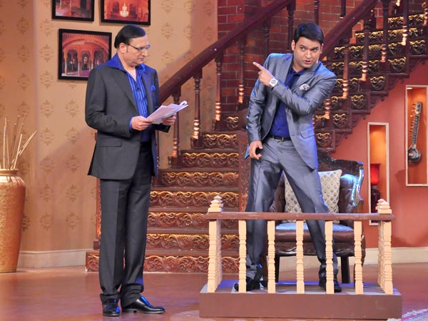 Kapil Sharma And Rajat Sharma