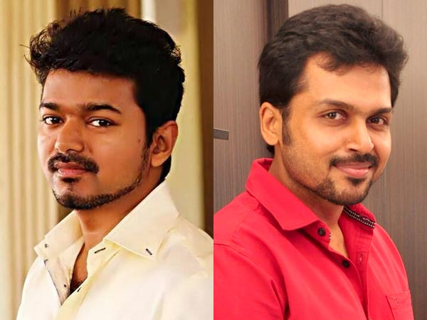 Vijay and Karthi