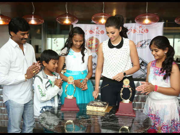 Hamsa Cuts Cake, Shares It With Kids