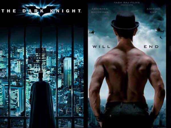 Dhoom 3 Poster vs The Dark Knight Poster