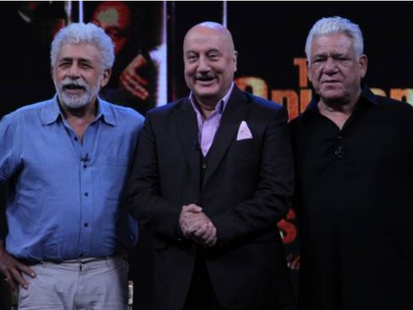 Naseeruddin Shah Says Om Puri Is A Shy Romantic: The Anupam Kher Show!