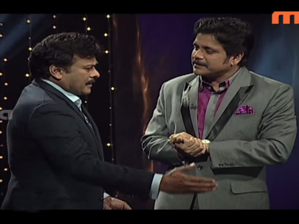 Chiranjeevi Bonds Big Time With Nagarjuna