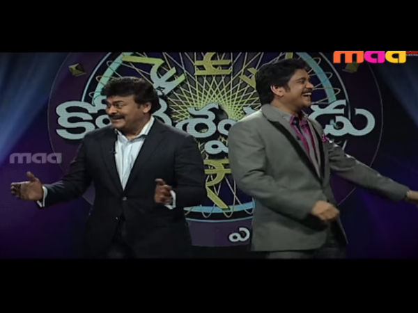 Chiranjeevi, Nagarjuna Rock Audience