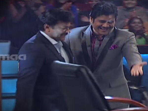 Nagarjuna Escorts Chiranjeevi To Hot Seat