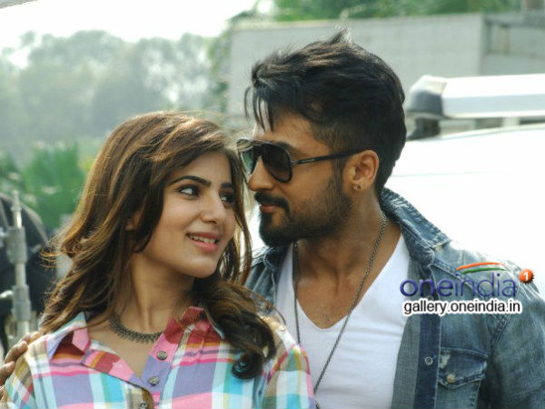 Surya With Samantha