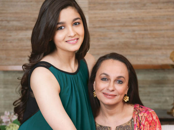 Alia Bhatt With mom Soni Razdan
