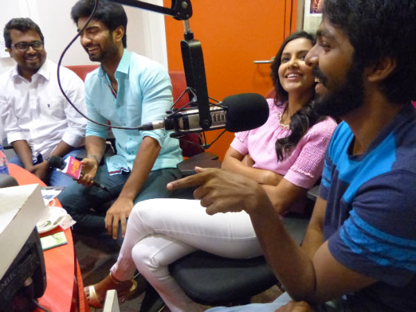 GV Prakash Speaking To A Listener